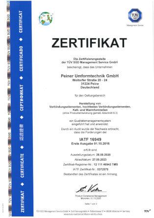 IATF 16949 - deutsch