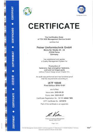 IATF 16949 - english