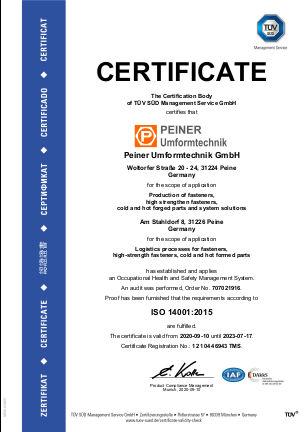 ISO 14001:2015 - deutsch