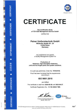 ISO 9001:2015 - english